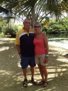 Brian and Anthea Meigh