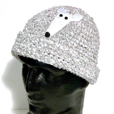 Greyhound beanie hat
