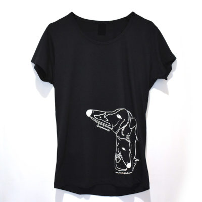 Ladies 4 hound tshirt
