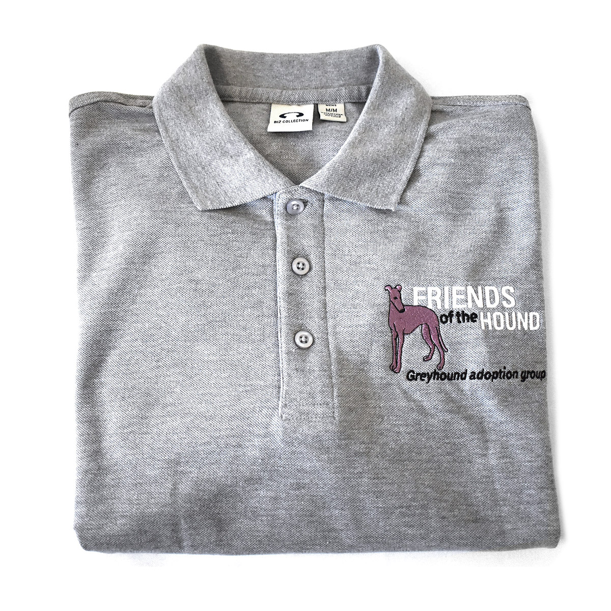 FOTH team grey polo