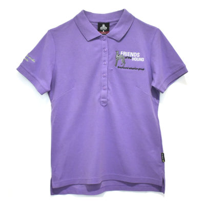 FOTH purple polo shirt