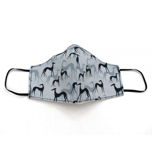 Greyhound face mask