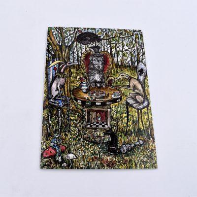 Greyhound art card