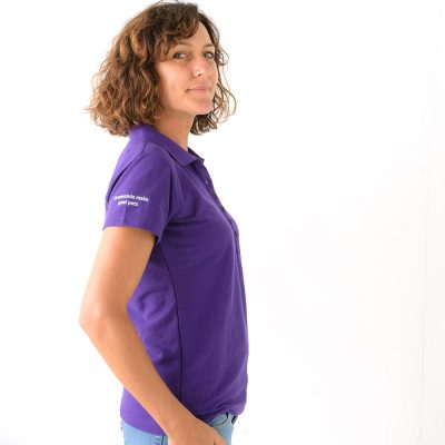NEW Friends of the Hound Team Polo Shirt – purple