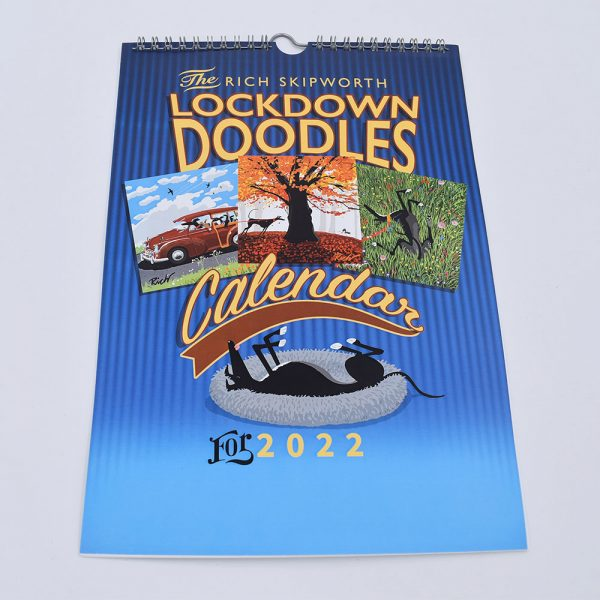 Richard Skipworth Lockdown Doodles calendar 2022