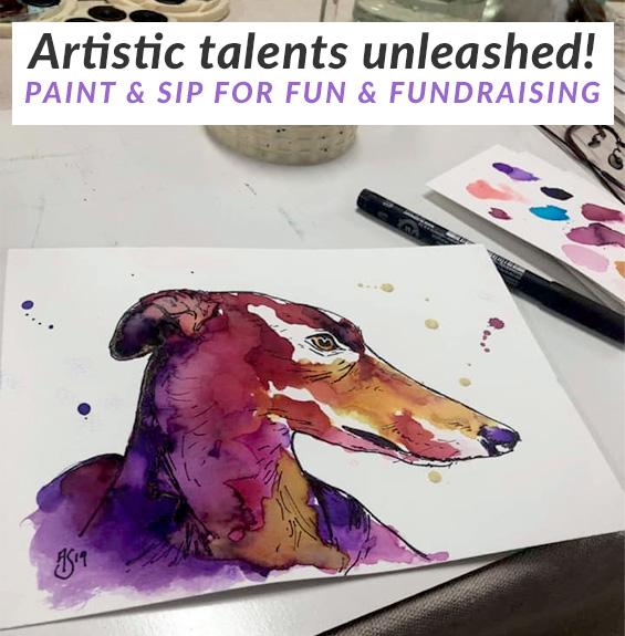 Paint & Sip fundraiser