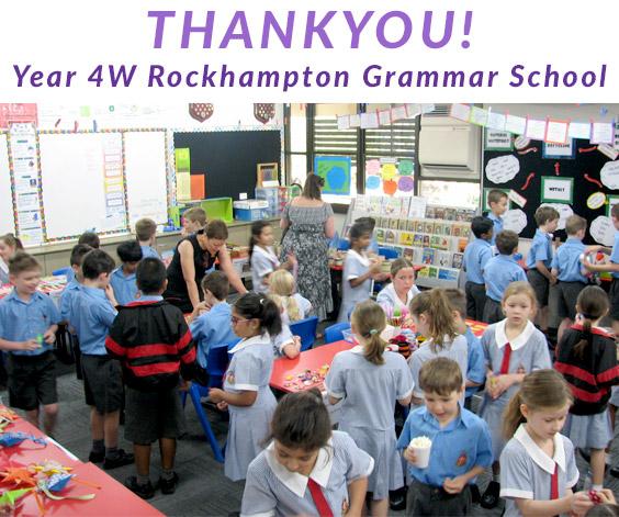 Rockhampton Grammar Year 4W