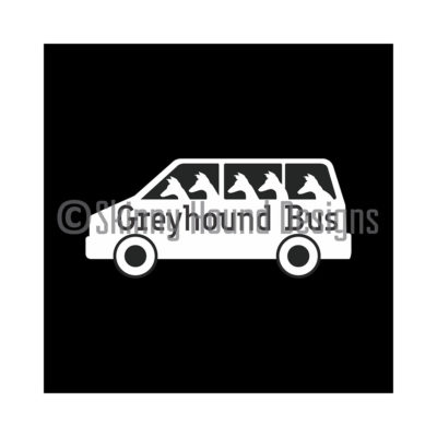 Vinyl Car Decal – Greyhound bus