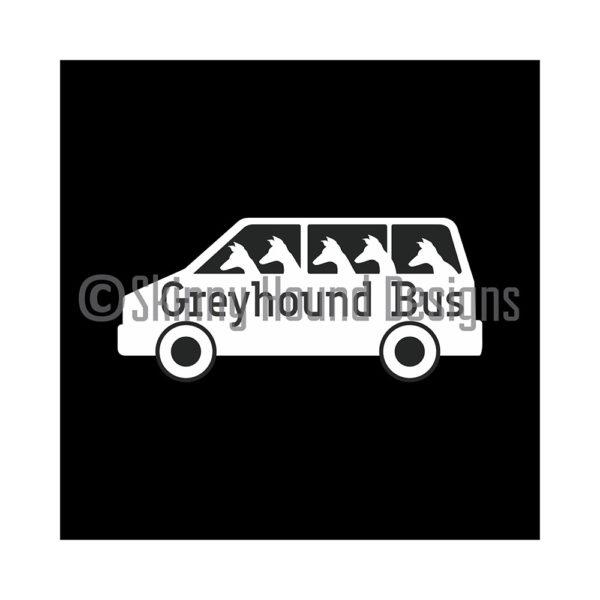 Greyhound Car decal