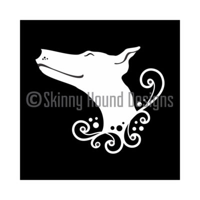 Greyhound Car decal