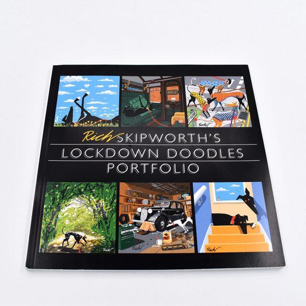 Rich Skipworth Lockdown doodles book