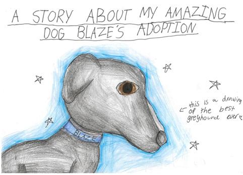 A story about Blaze's adoption