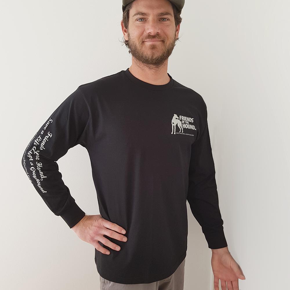 Men's cotton greyhound tshirt