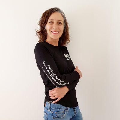 Women's long sleeve FOTH tee in Black