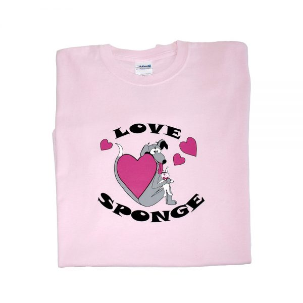 Ladies Love Sponge Greyhound tshirt